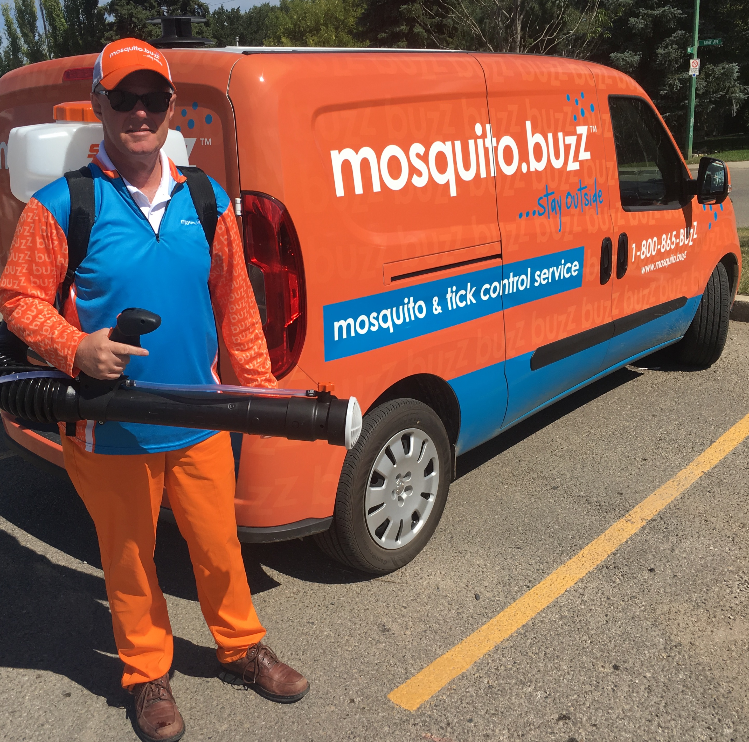 Doug George - Mosquito.Buzz Saskatoon