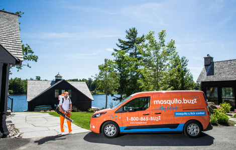 Mosquito.buzz provides effective mosquito control for homes, cottages, and venues